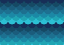 blå vågor