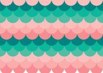 blå_rosa vågor