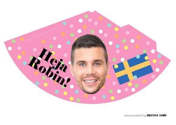 Eurovisionhatt_ROBIN