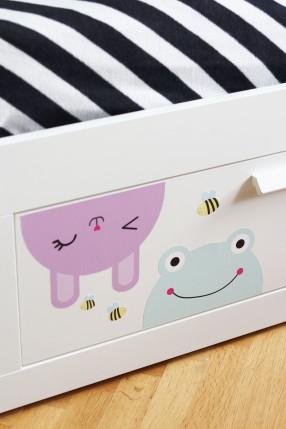 Bumble bee på sänglåda
